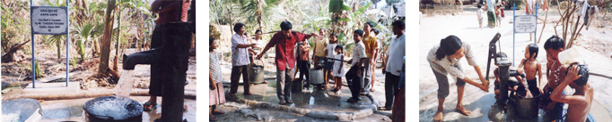 Donation of Well Water for 20 years