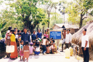 Donation of Development of well water in Cambodia